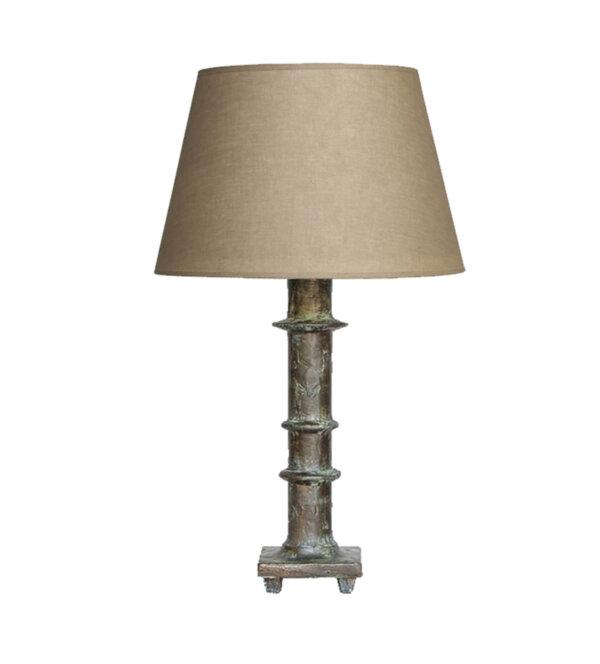Modern Table Lamp – Bronze Verdigris