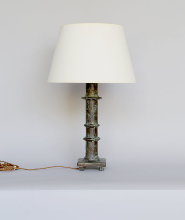 Modern Table Lamp – Bronze Verdigris.LR