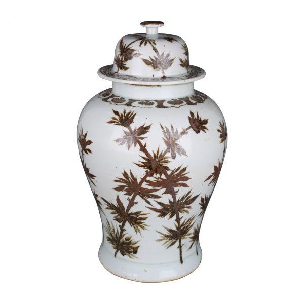 Dynasty Bamboo Temple Jar