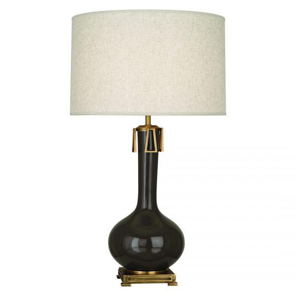 Adessa Table Lamp in Coffee