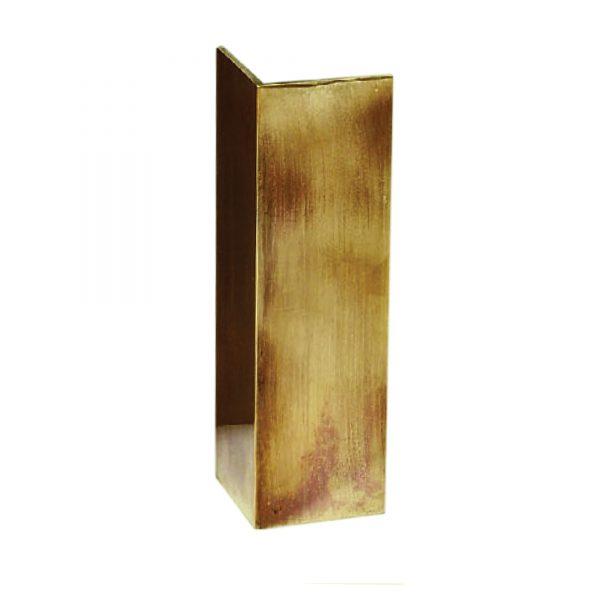 Brass Corner Uplighter