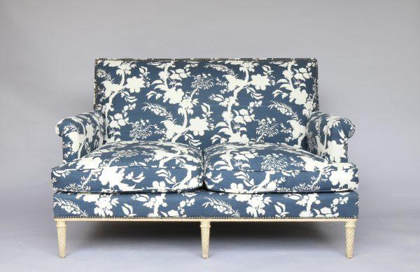 Maison Jansen Two Seater Canapé Sofa Circa 1940