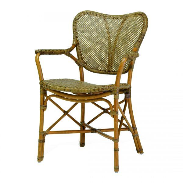 Jordan Armchair in Honey Brown