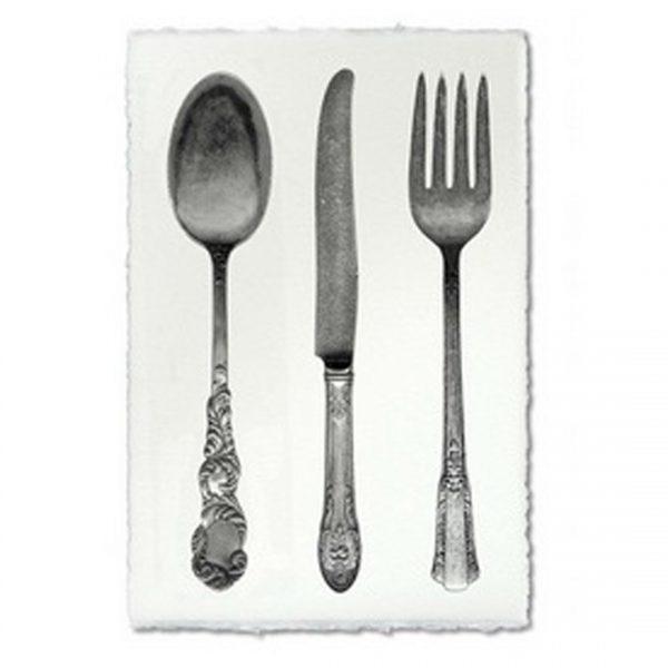 Cutlery Study Prints