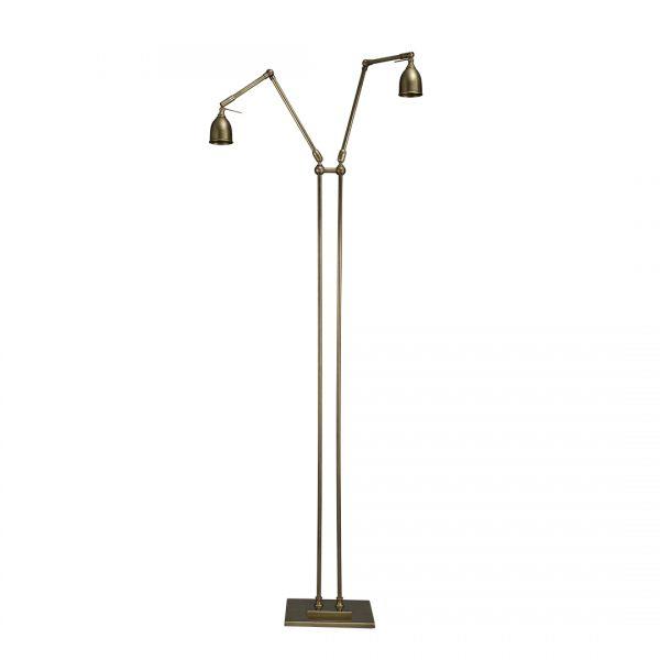 Valerio Double Arm Standing Lamp