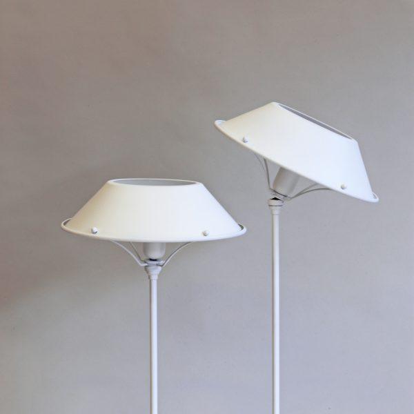 Viva Table Lamp in Matt White, H59cm