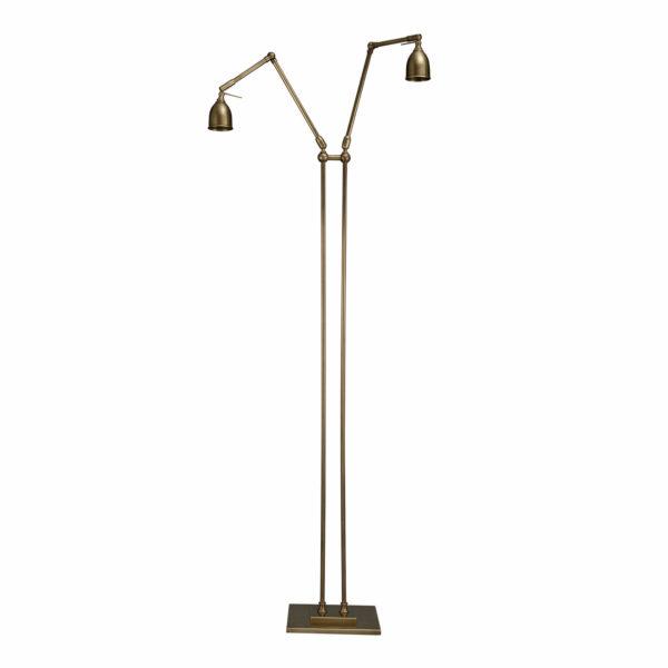 Valerio Double Standing Lamp