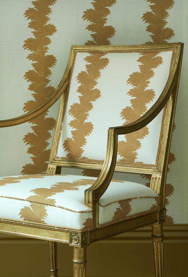 Vignette.Palmyra Ochre.George III Chair (2)