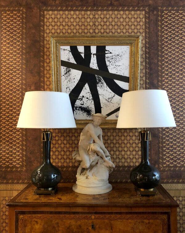 Vignette.Adessa Lamps.San Patrignano.Abstract Painting