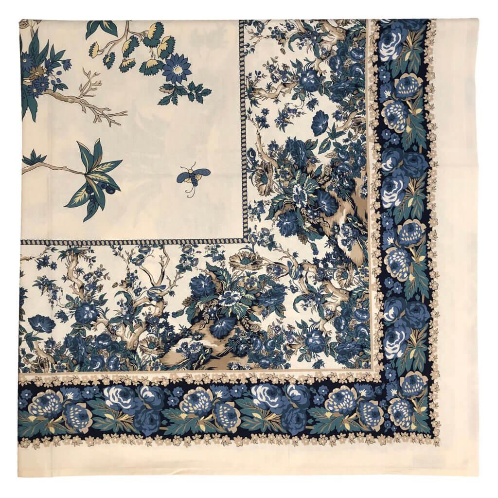 Blue-Caramel on Ecru Tablecloth_WS