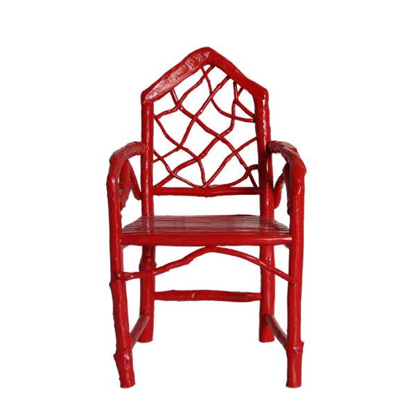 Stephan Armchair, Coral Red – LR