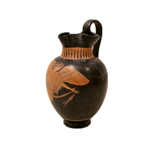 Etruscan Jug Large, Pegasus 2 CUT LR